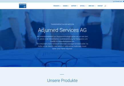 Referenz Adjumed Services AG